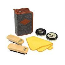 Wild & Wolf Gentlemen's Hardware Shoe Shine Kit Diy Repair and Restore Accessory Photo
