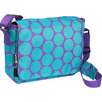 Wildkin Big Dot Aqua Kickstart Messenger Bag - Big Dots Photo