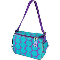 Wildkin Keep It Cooler Lunch Box - Big Dots Aqua Photo