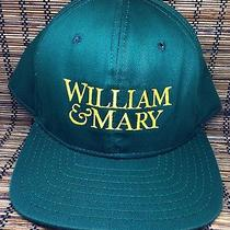 William & Mary Tribe Hat Vintage Ncaa Cap w&m Bookstore Brand Snapback Photo