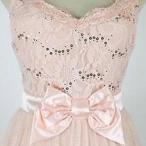 Windsor 85 Blush Evening Prom Formal Cruise Short Dress Size 7 Homecoming Club Photo