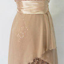 Windsor 90 Taupe / Blush Prom Homecoming Party Dress 5 Photo