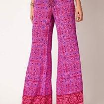 Winter Kate Fuchsia Sunder Silk Creppe Palazzo Pants Covert Affairs Tv Size S Photo