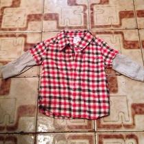 Winter Red Dress Shirt Cheap Barato Photo
