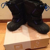 Winter Snow Boots Sorel  for Boy Size 9 Photo