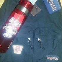 Wisconsin Badgers Back Pack and Water Bottle Photo