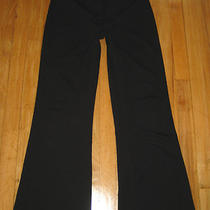 Wms Express Dress Pants/slacks5/6s Sz 5 / 6 Shortblackstretchflareso Nice Photo