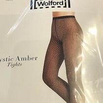 Wolford Black/gobi Mystic Amber Tights S Photo