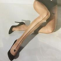 Wolford Hearts Tights (18976 8458) (Swarovski Elements) Sahara / Black M Rrp 45 Photo