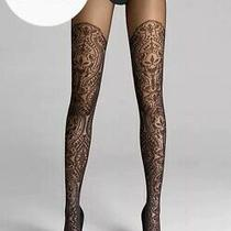 Wolford Henna Sparkle Tights in Black Szxs Ret260 New/packaged Photo