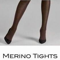 Wolford Merino Mocha Tights in Original Packaging Medium - New Photo