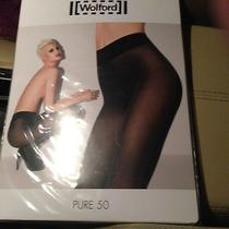Wolford Pure 50 Tights (Black) Photo