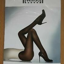 Wolford Satin Opaque 50 Tights L Rouge Red Sealed Photo