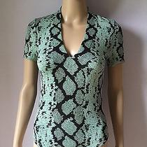 Wolford Snake Print String Bodysuit Size S. Photo
