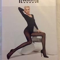 Wolford Tippi Tights Pantyhose Caper Olive Sz M Nip 14417 Fits Size 12/14 Photo