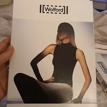 Wolford Velvet De Luxe Top Black Size Large Sleeveless Photo