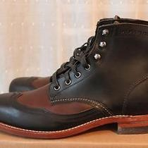 Wolverine Brown/black Addison Boots 7.5d - 375 Nwt Ralph Lauren Photo