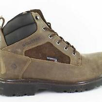Wolverine Mens Roughneck Fossil Work & Safety Boots Size 11.5 (1400429) Photo