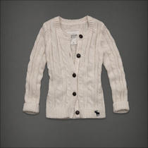 Woman Abercrombie and Fitch Heather Sweater Photo
