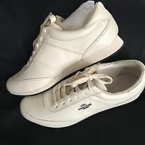 Woman Coach Sneakers 100% Authentic Size 91/2 Color Chalk New in Box Photo