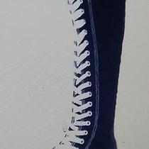 Woman Lace Up Boots Photo