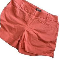 Woman Ladies Coral Shorts Size 2 Express- Great Condition Photo