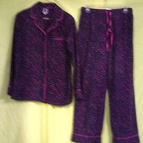 Woman's 2 Part Pajama's by Anne Klein Size M. Bright Colors Photo