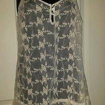 Woman's American Rag Cie Lace Tunic Size Medium Dress Photo