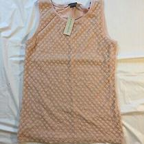 Womans Ann Taylor Blush Color Sleeveless Tank Top Nwt Size Xs Photo