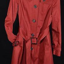 Woman's Burberry Red Coat  Photo
