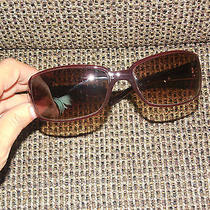Woman's Burgundy Fossil Sunglasses Cute Photo