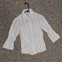 Woman's Button Up Dress Shirt Size Small Photo