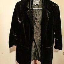 Woman's Charlotte Russe Sexy Velvet Blazer Size M Photo