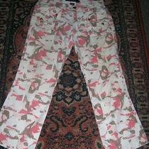 Woman's Dkny Camaflouge Pants Sz 2 --Fun Photo