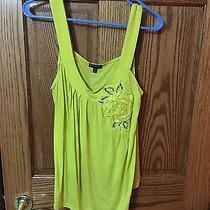 Woman's Dressy Tank Yellow Medium Photo
