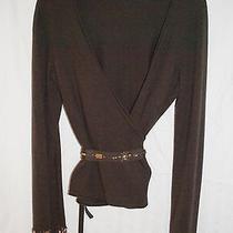 Woman's Escada Sport  Sweater With Rhinestones Photo