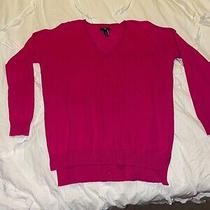 Woman's Gap Factory Small Pullover Sweater Pretty Pink Photo