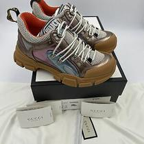 Womans Gucci Flashtrek Sneakers Size 38 Made in Italy Photo
