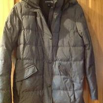 Woman's Lands End  Gray Winter Down 32