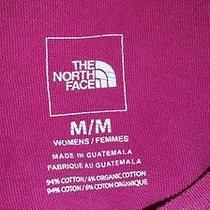 Woman's Medium North Face Tshirt Gently Worn.  Photo