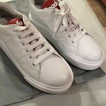 Womans Prada Chunky White Sneakers Size 38.5 Photo