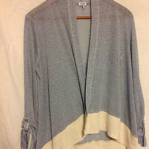 Woman's Splendid Jersey Cardigan Size Med Photo
