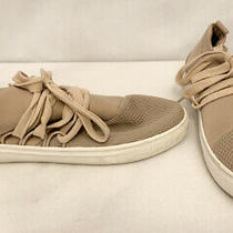 Womans Steve Madden Lancer Sneakers Shoes Size 9.5 9 1/2 M Solid Blush Beige Photo