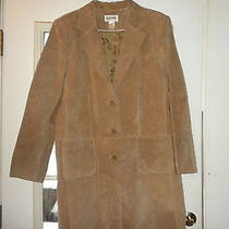 Woman's Suede Coat Photo