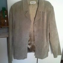 Woman's Suede Jacket Xl Photo