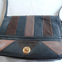 Woman's Vintage Avon Leather Crossbody Organizer Bag Shoulder Bag Retro Photo