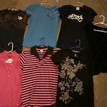 Woman Shirts Lot Size Medium. Hurley Roxy American Eagle Etc Photo