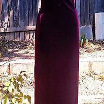 Woman Vintage Velvet Dress  Photo