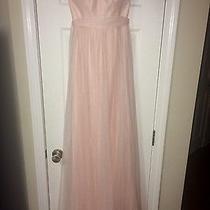Womans Anthropologie Blush Bridesmaid Dress Sizes 0 8 814 Photo