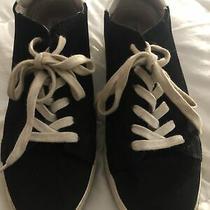 Womans Black Steve Madden Sneaker 10 Photo